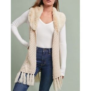 NWT Anthropologie vest